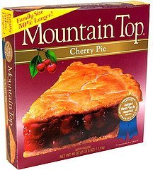 cherry pie Mountain Top Nutrition info