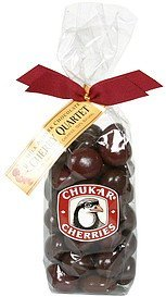 cherry quartet milk & dark chocolate Chukar Cherries Nutrition info