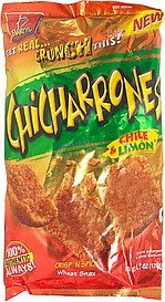 chicharrones chile & limon Barcel Nutrition info