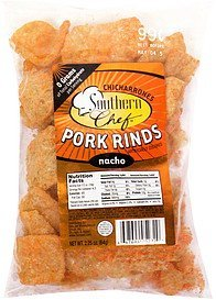 chicharrones pork rinds nacho Southern Chef Nutrition info