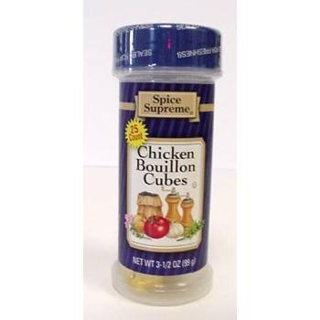 chicken bouillon cubes Spice Supreme Nutrition info