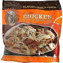 chicken breast in alfredo sauce grilled Concerto Nutrition info