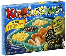 chicken breast nuggets all star Kid Cuisine Nutrition info