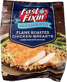 chicken breasts flame roasted Fast Fixin' Nutrition info