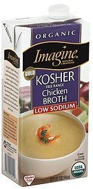 chicken broth organic, kosher Imagine Natural Creations Nutrition info