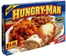 chicken burrito Hungry-Man Nutrition info