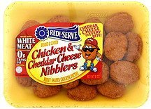 chicken & cheddar cheese nibblers Redi-Serve Nutrition info
