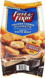 chicken cheese nuggets Fast Fixin' Nutrition info