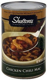 chicken chili mac Sheltons Nutrition info