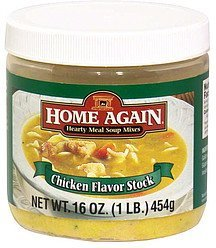 chicken flavor stock Home Again Nutrition info