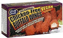 chicken-free buffalo wings vegan Health is Wealth Nutrition info