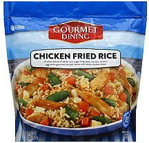 chicken fried rice Gourmet Dining Nutrition info