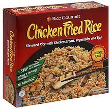 chicken fried rice Rice Gourmet Nutrition info