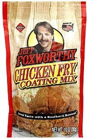 chicken fry coating mix Jeff Foxworthy Nutrition info
