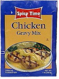 chicken gravy mix Spice Time Nutrition info