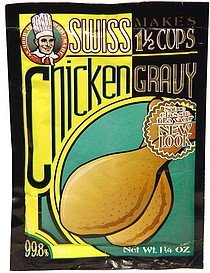 chicken gravy Swiss Nutrition info