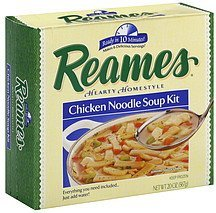 chicken noodle soup kit hearty homestyle Reames Nutrition info