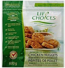 chicken nuggets Life Choice Nutrition info
