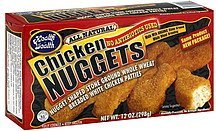 chicken nuggets Health is Wealth Nutrition info