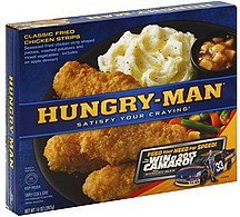 chicken strips classic fried Hungry-Man Nutrition info
