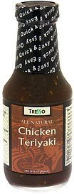 chicken teriyaki sauce Tresso Nutrition info