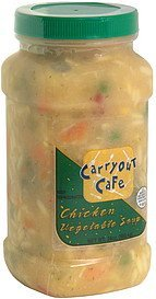 chicken vegetable soup Carryout Cafe Nutrition info
