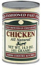 chicken Das Dutchman Essenhaus Nutrition info