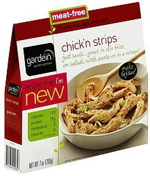 chick'n strips Gardein Nutrition info