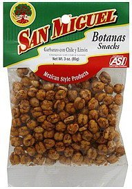 chickpeas chili & lemon San Miguel Nutrition info