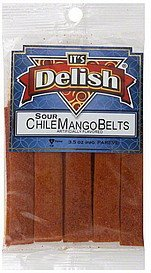 chile mango belts sour Its Delish Nutrition info