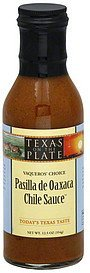 chile sauce pasilla de oaxaca, vaqueros' choice Texas On The Plate Nutrition info