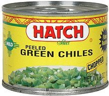 chiles chopped green mild Hatch Nutrition info