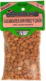 chili lemon peanuts, cacahautes con chile y limon pre-priced Muncheros Nutrition info