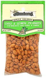 chili & lemon peanuts Muncheros Nutrition info