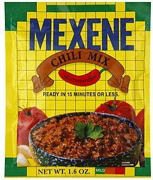 chili mix mild Mexene Nutrition info