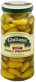 chili peppers hot Giuliano Nutrition info