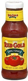 chili sauce Red Gold Nutrition info