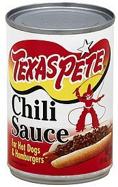 chili sauce Texas Pete Nutrition info