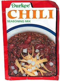 chili seasoning mix Durkee Nutrition info