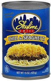 chili spaghetti Skyline Chili Nutrition info