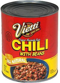 chili with beans original nashville style Vietti Nutrition info