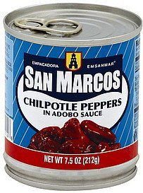 chipotle peppers in adobo sauce San Marcos Nutrition info