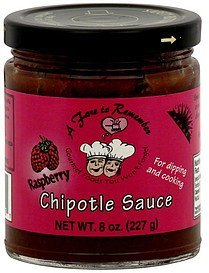 chipotle sauce raspberry A Fare to Remember Nutrition info