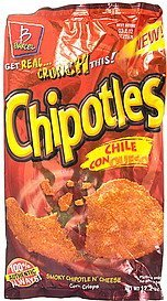chipotles chile con queso Barcel Nutrition info