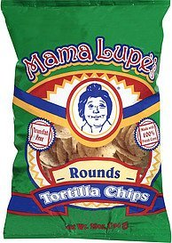 chips rounds tortilla Mama Lupe's Nutrition info