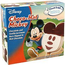 choco-hat mickey Disney Nutrition info