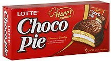 choco pie happy promise Lotte Nutrition info