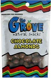 chocolate almonds The Grove Nutrition info