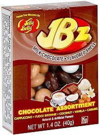 chocolate assortment milk chocolate flavored shell Jelly Belly Nutrition info