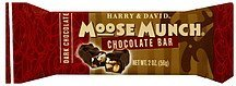 chocolate bar moose munch Harry and David Nutrition info